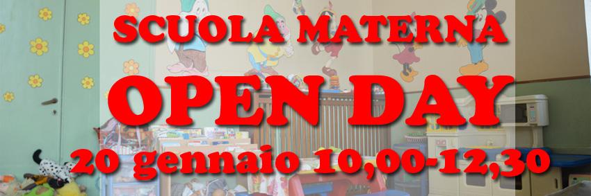 Open Day Scuola Materna 2018