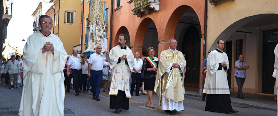 16 luglio 2016 - In processione